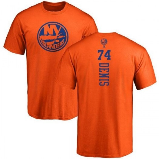 Travis St. Denis New York Islanders Youth Orange One Color Backer T-Shirt -